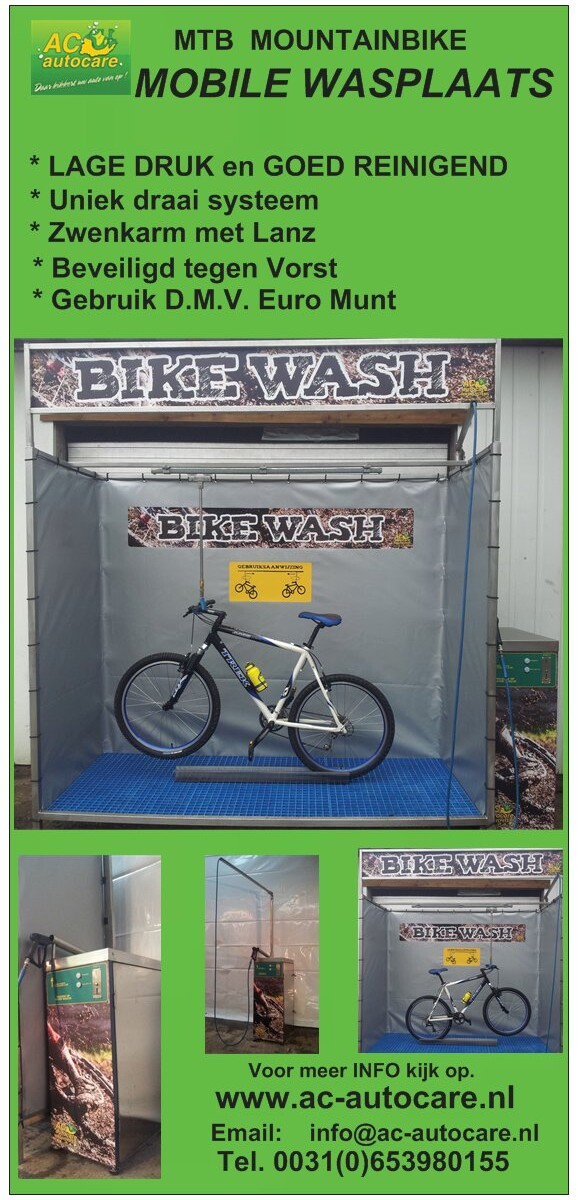 Flyer bike wash